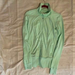 Lululemon In Stride Mint Jacket